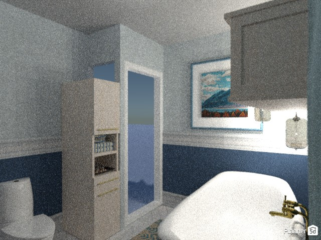 Contest: Blue Bathroom 80594 by Moonface image