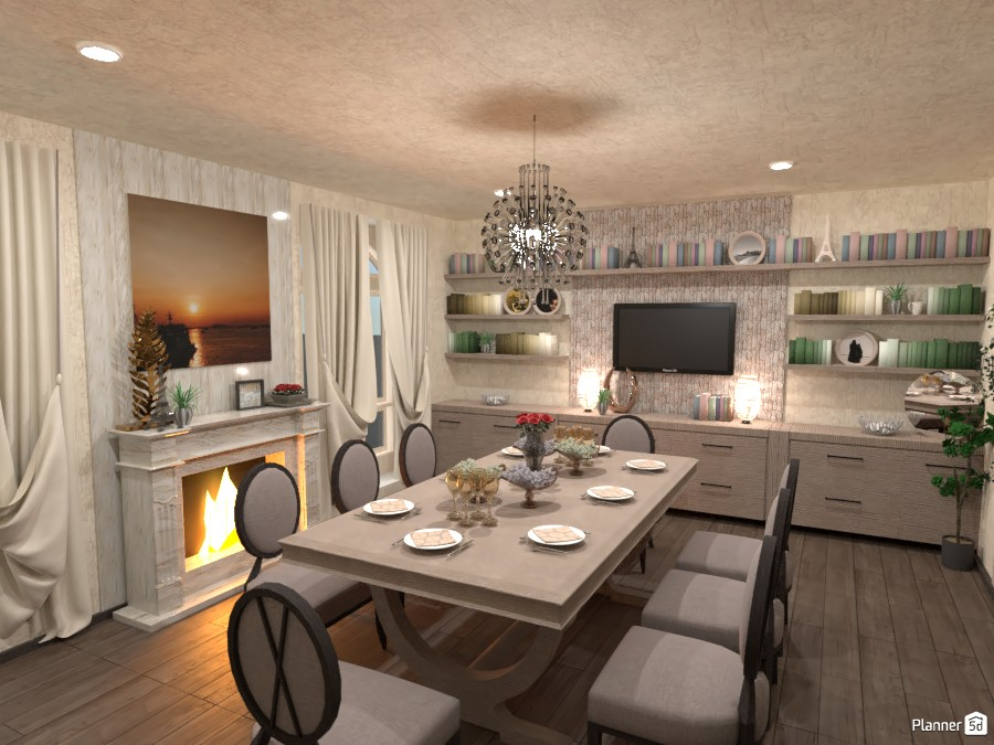 Dining Room 4285303 by Flaw image
