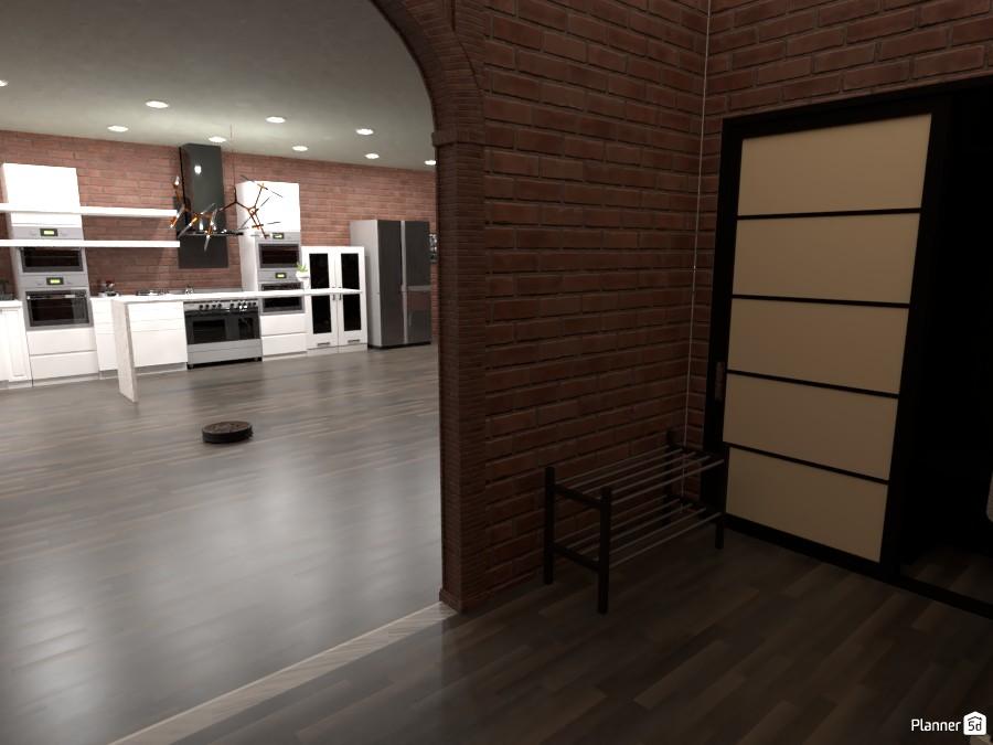 Lush Exposed-Brick Apartment 86377 by Weston Thomas image