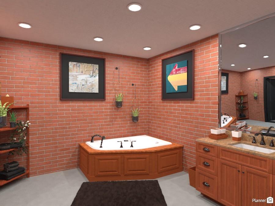 Loft Bathroom 4949560 by Annabella Grace Lara image