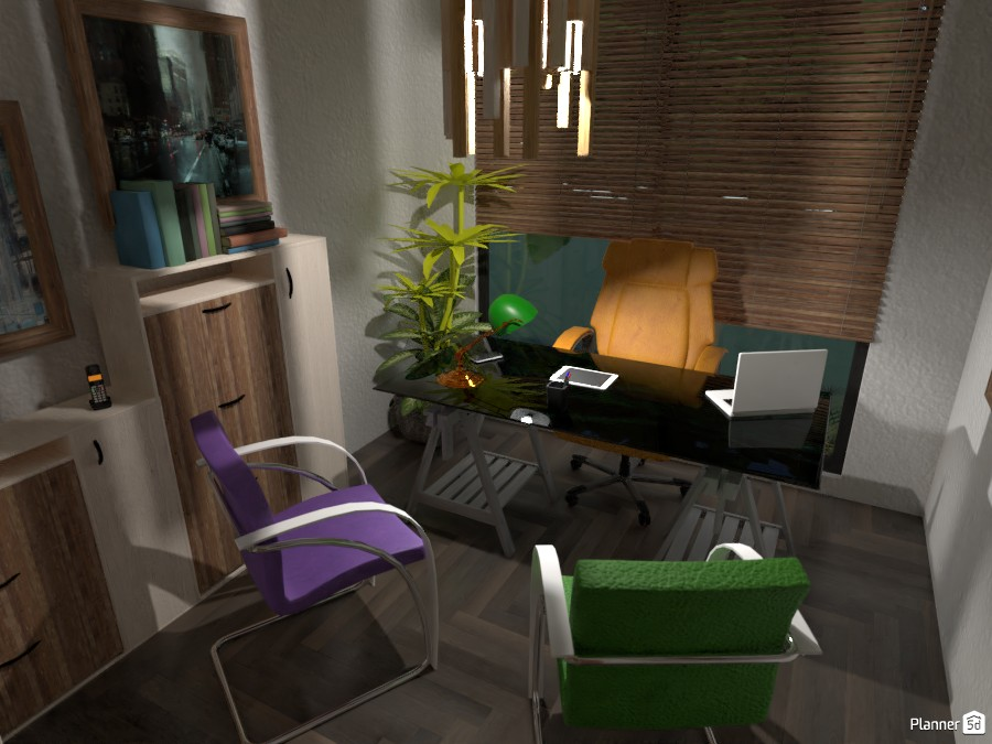 Villa Erika: office 3590013 by Moonface image