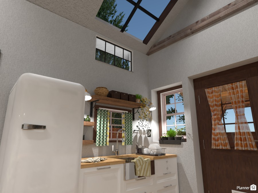Tiny House : Kitchen #2 4676209 by Moonface image