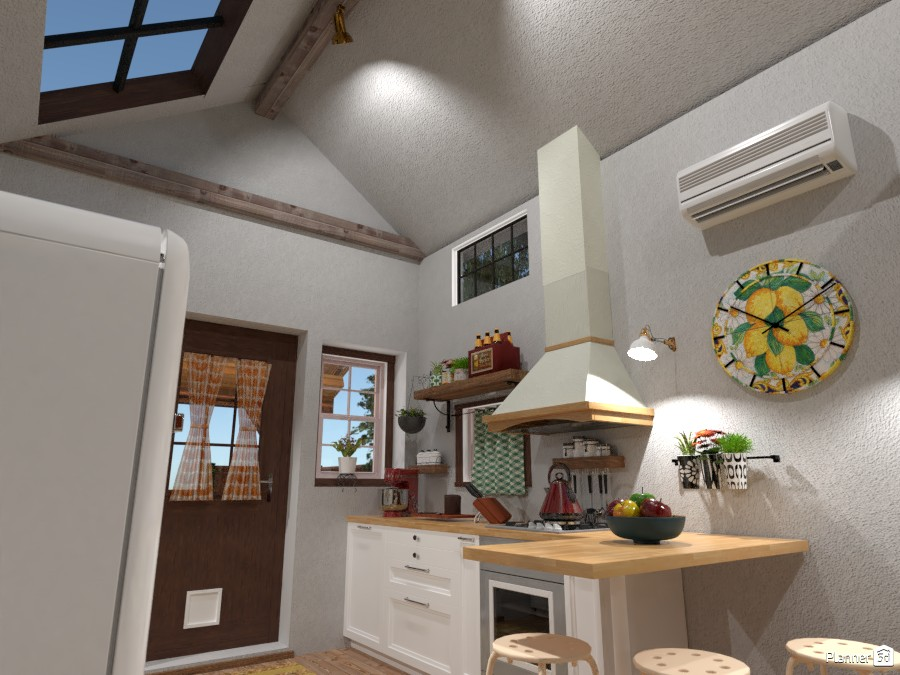 Tiny House : Kitchen #1 4676211 by Moonface image