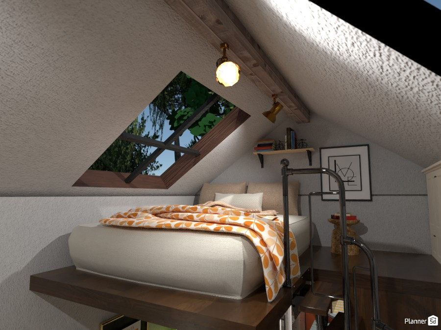 Tiny House : Bedroom 4676223 by Moonface image