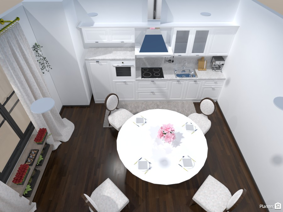 White dining room 85941 by BooBoo image