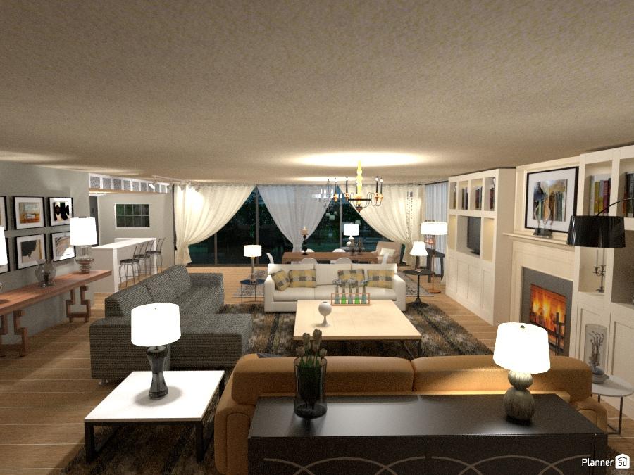 Ground Floor Apartment: Living Room 1385880 by Marina Fragouli/Μαρίνα Φραγκούλη image