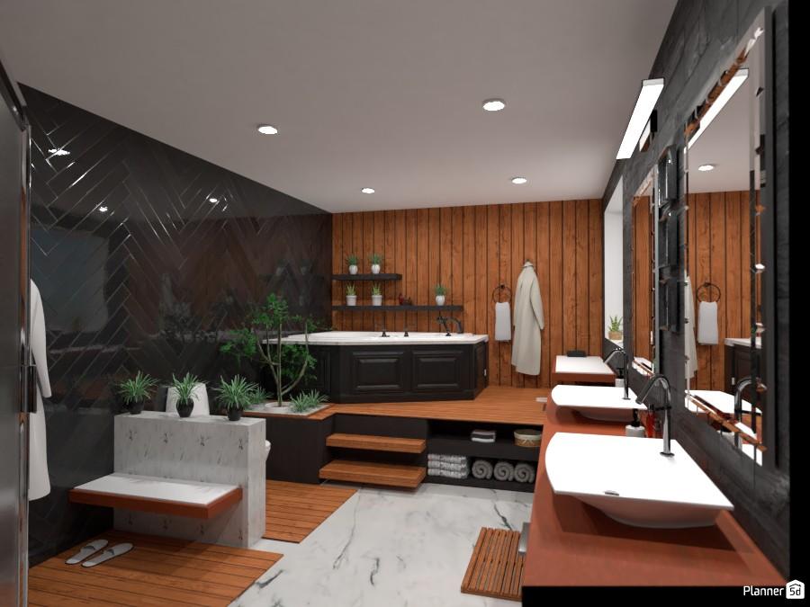 Dream bathroom: Design battle contest 4552057 by Gabes image