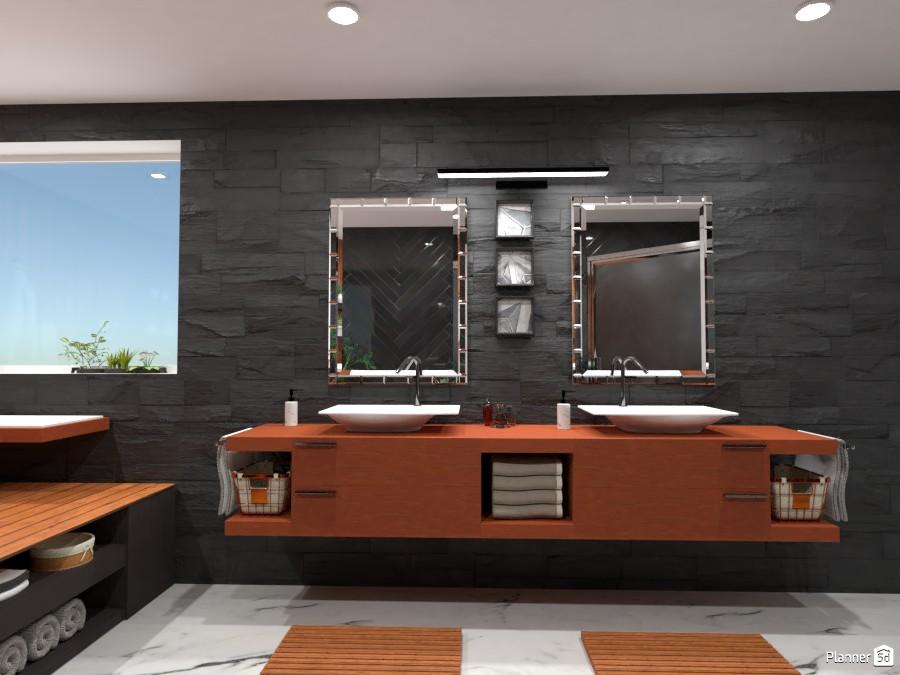 Dream bathroom: Design battle contest 87777 by Gabes image