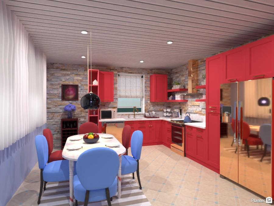 Красочная кухня 4486100 by Ольга image