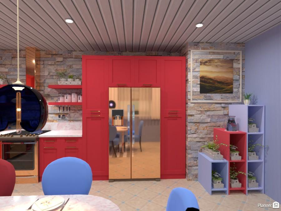 Красочная кухня 4486122 by Ольга image