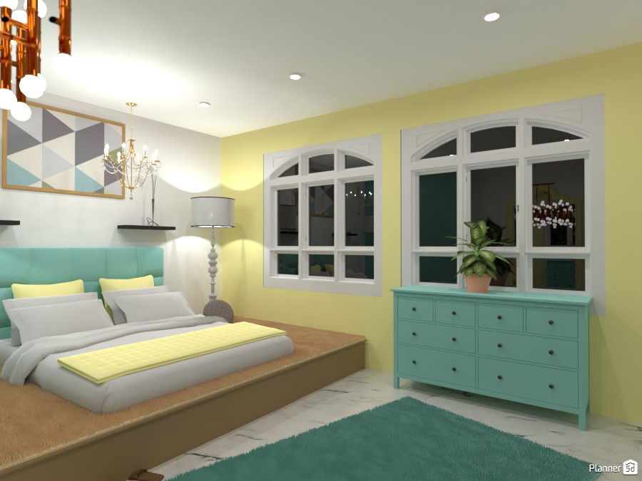 Classsical Bedroom 87509 by Mark image
