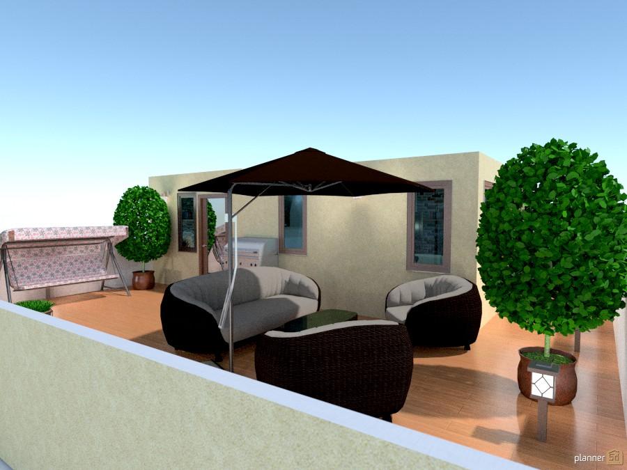 backyard feeling on the top floor 806579 by Yordan Radev image