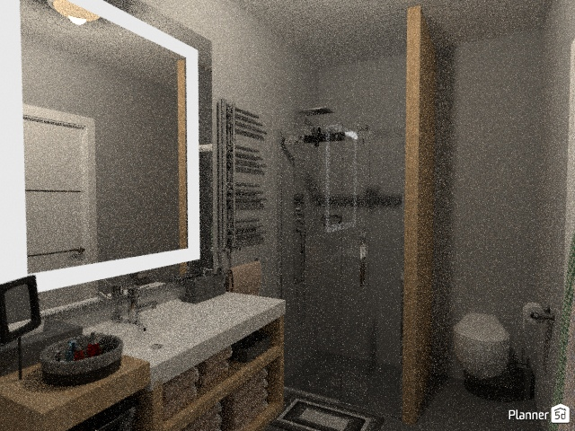 Modern one bedroom apartment 76366 by Sasa image
