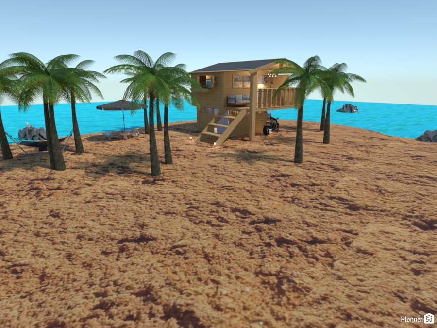 Beachfront bungalow 5226013 by Gabes image