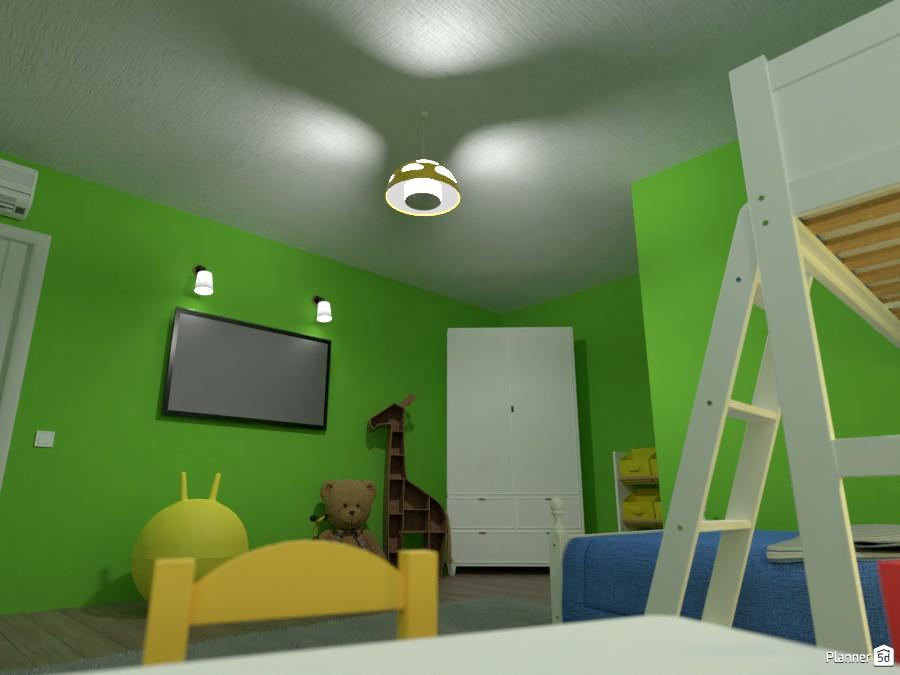 Children's bedroom 84527 by EMG Builds image