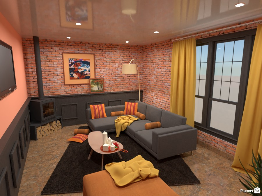 Autumn living room 4833011 by Mia image