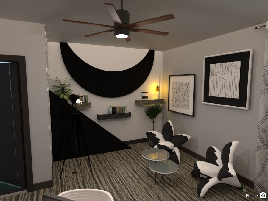 Black and white office: #1 3593566 by Moonface image