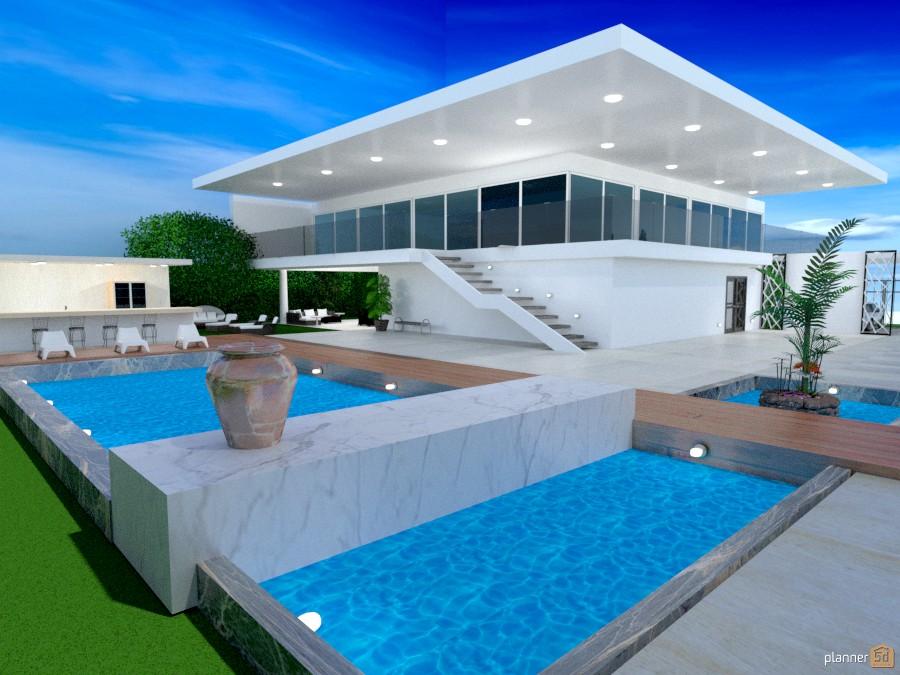 White Pool Villa 1082311 by Marina Fragouli/Μαρίνα Φραγκούλη image