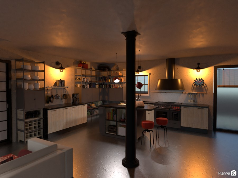 Bungalow con  Piscina: Cucina 3526120 by Freek image