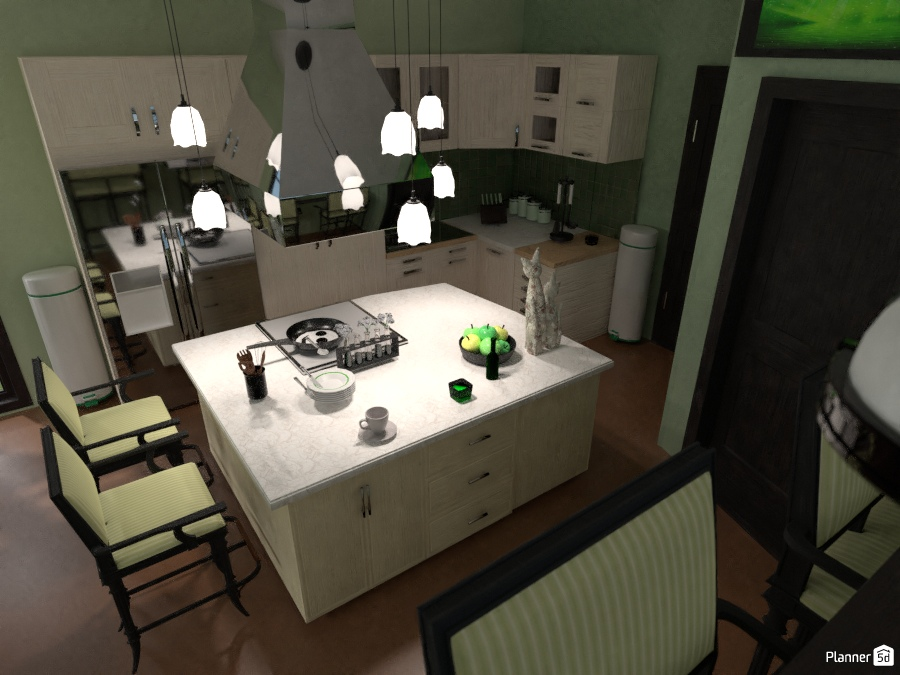 Mama's Green Kitchen 2192984 by ESK image