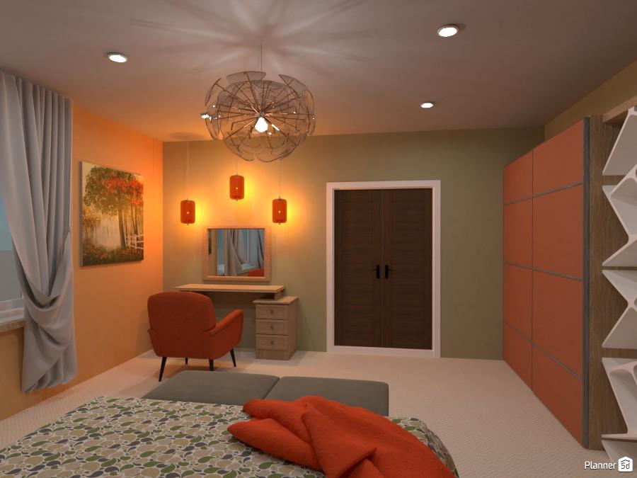 Contrast bedroom 4626970 by Rita Oláhné Szabó image