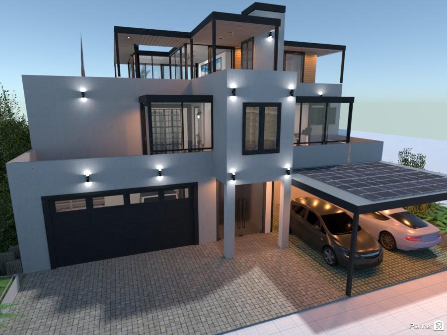 Energy Efficient Multi-Purpose Luxury House 85193 by derick le roux image