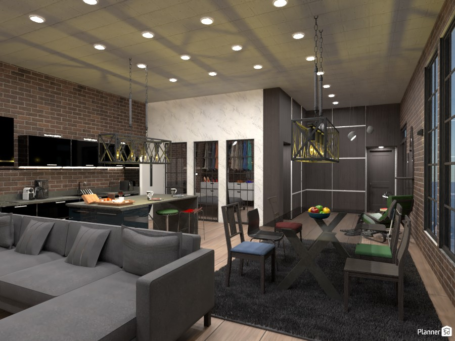 Industrial Loft 88109 by Ely Bnd image