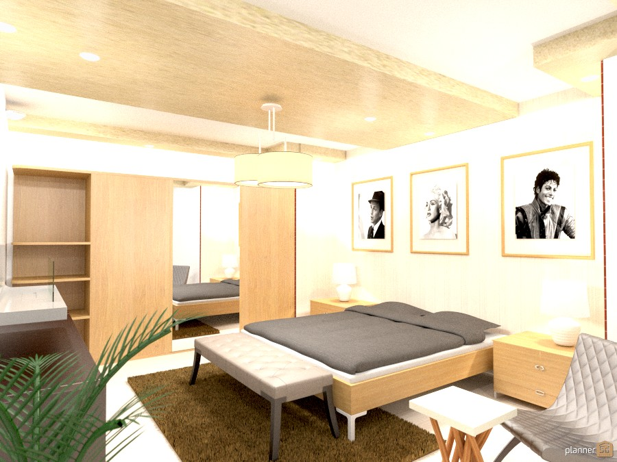 modern bedroom 814017 by Yordan Radev image
