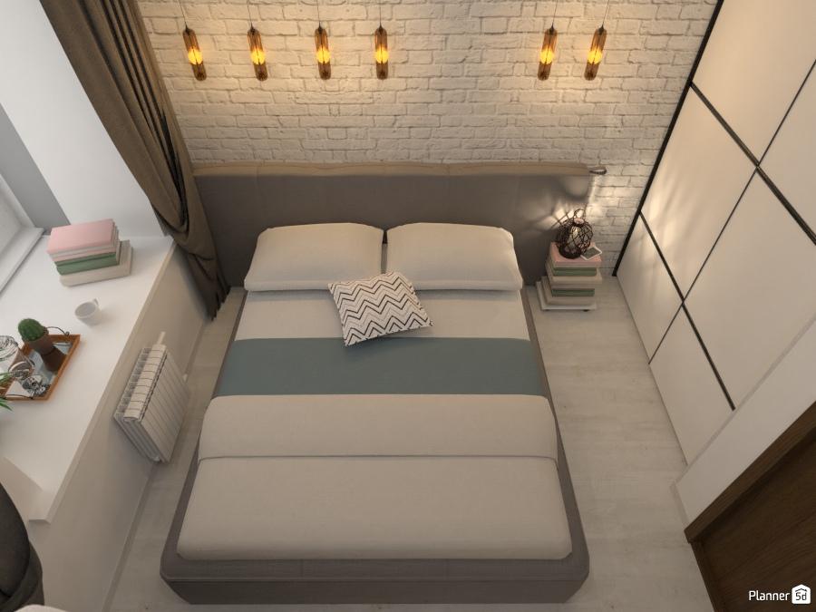 Дизайн smart квартиры. Спальня 76064 by Татьяна Максимова image