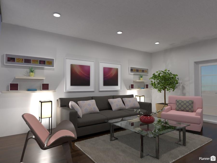Living room : Design battle contest 87846 by Gabes image