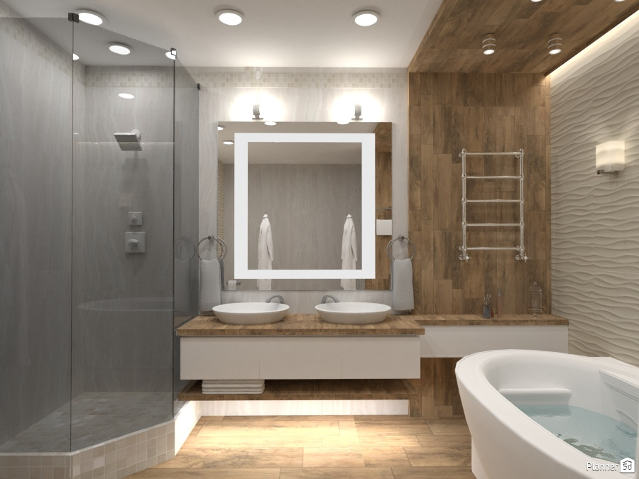 Ванная в частном доме 72265 by Elena Strenova image