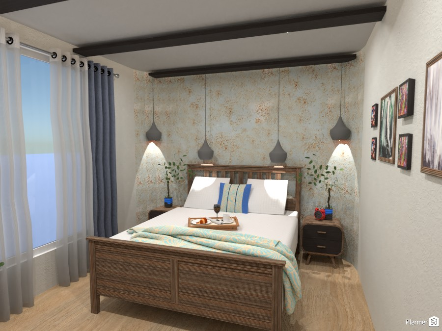 rounded corners bedroom 5027030 by Didi image