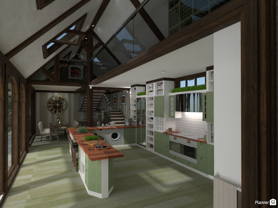 Herb Kitchen - Renovated Mill. 2003585 by Mikes image