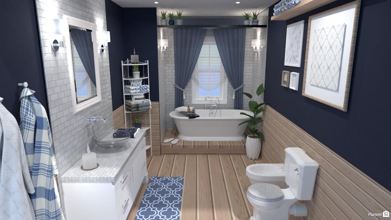 Classic bathroom | Batalla de diseño | versión personal 4906981 by Hall Pat image