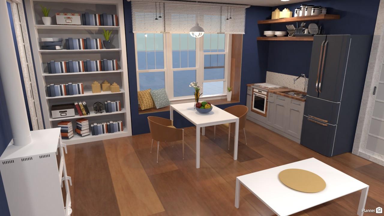 Casa sencilla para dos personas. 3870878 by Hall Pat image