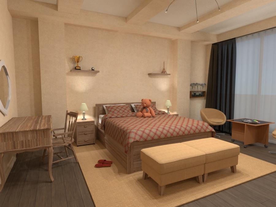 Bedroom 76852 by Sergey Nosyrev image