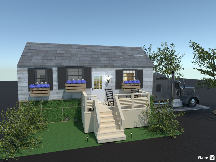 exterior of the tiny house challenge 4331900 by ella! image