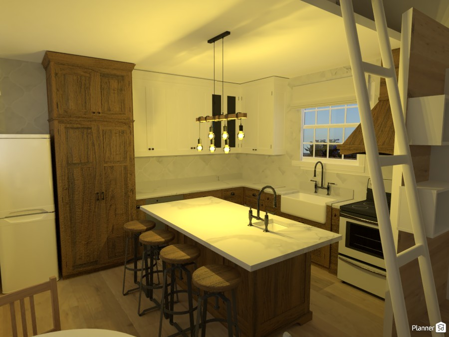 kitchen in tiny house challenge! 4331902 by ella! image