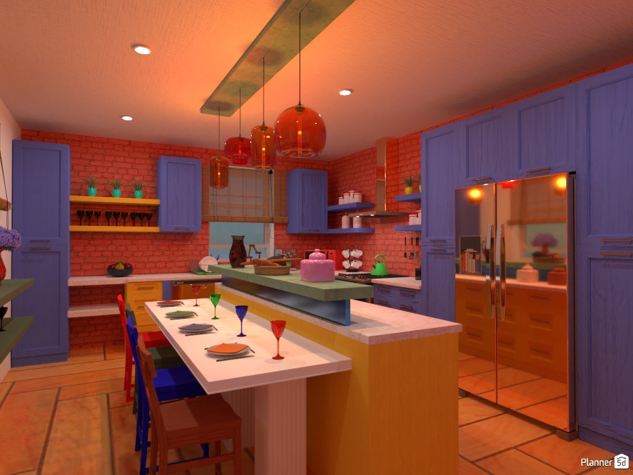Colorful interior: Design battle contest 4495368 by Gabes image