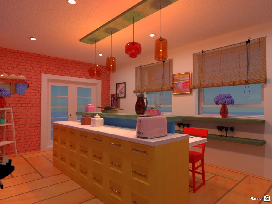 Colorful interior: Design battle contest 4495372 by Gabes image