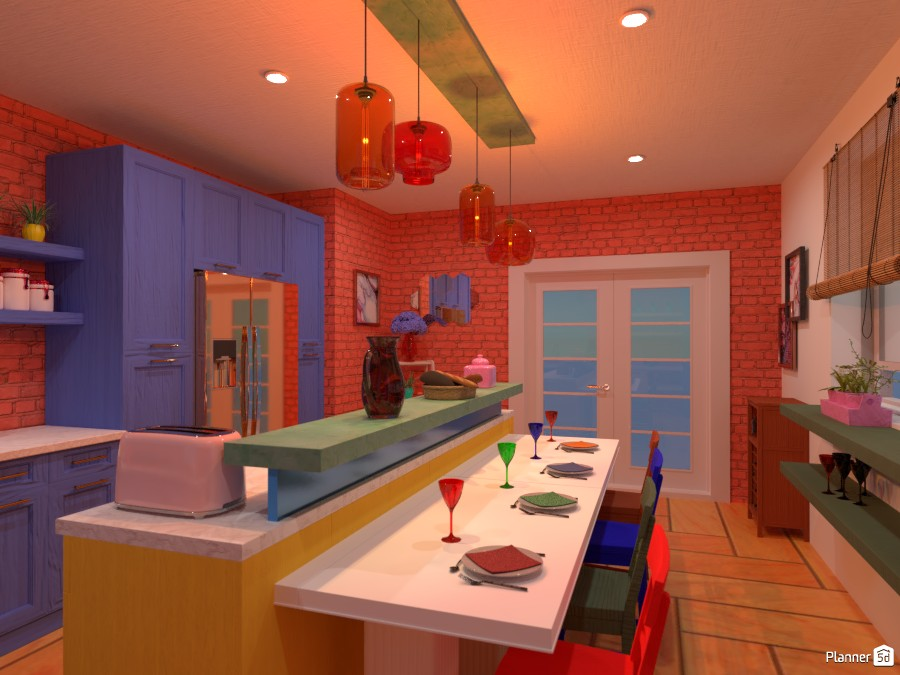 Colorful interior: Design battle contest 87642 by Gabes image