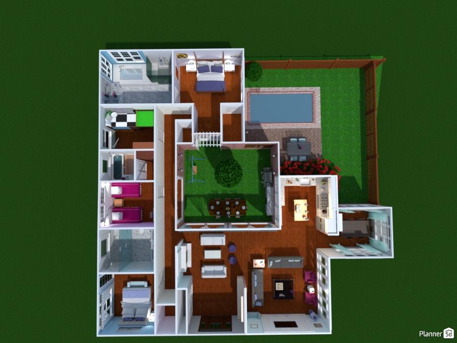 Atrium House 65467 by Olivia11 image