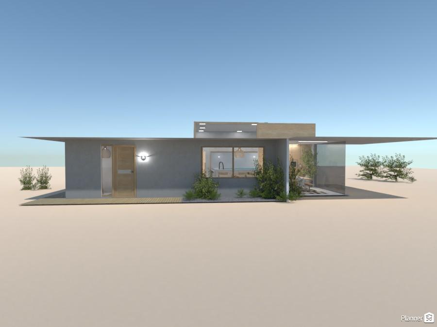 Desert House 87345 by Ana G image
