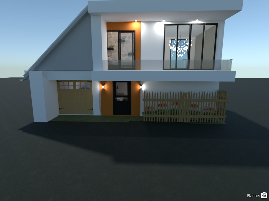 Small Modern House 86972 by Arin image