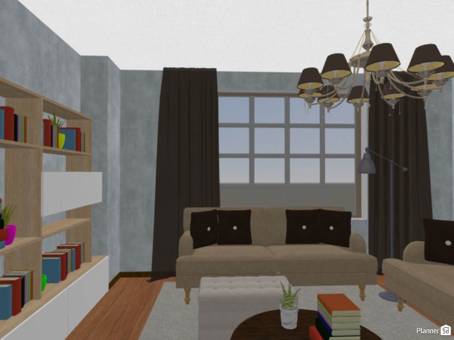 Library at home 83107 by Viola image