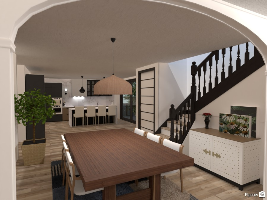 Cute Dining Room -- My Dream House 3971756 by Isabel image
