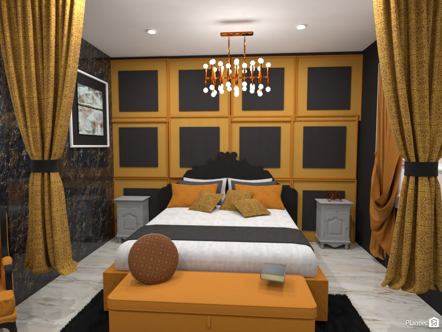 classic gold and black room 4460892 by Anonymous:):) image