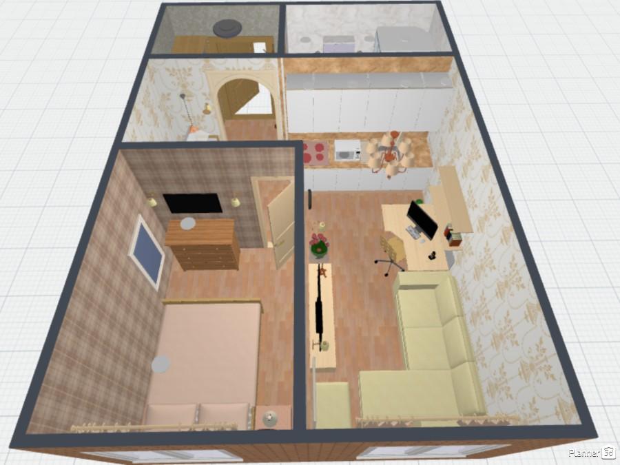 Квартира-студия около 50 кв.м 70649 by Ирина Михайловна image