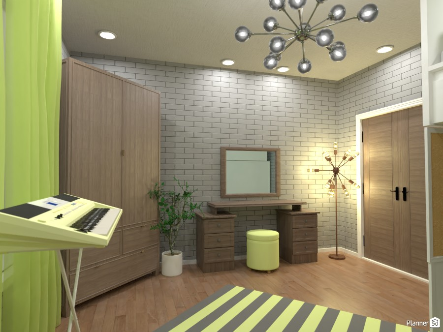 Yellow bedroom 3669684 by Doggy image