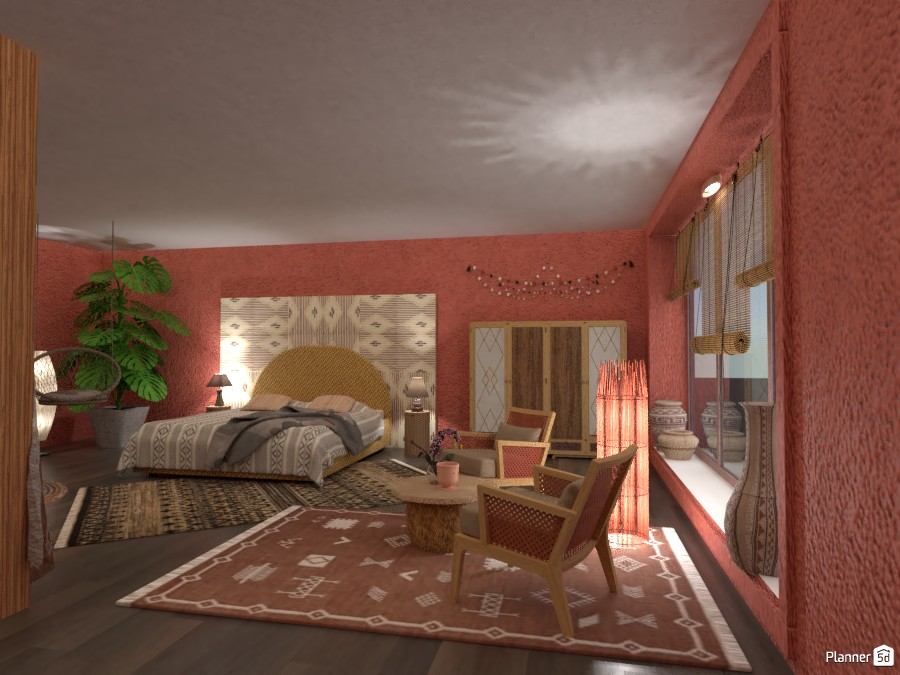 Ethnic Bedroom 4987613 by Micaela Maccaferri image